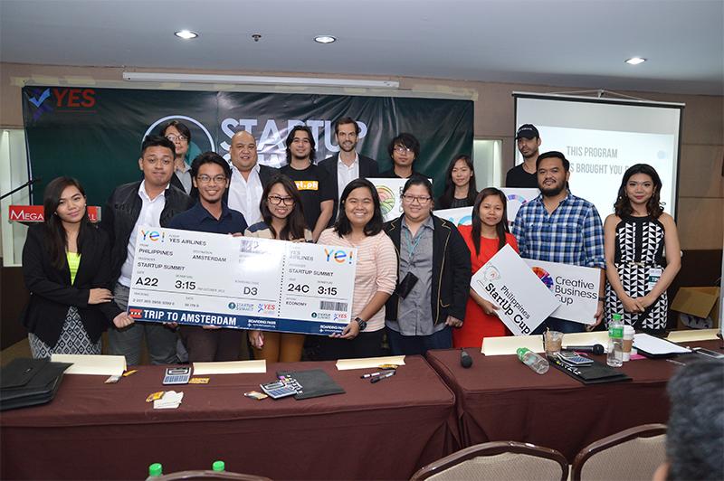 Startup Summit Winners 2015